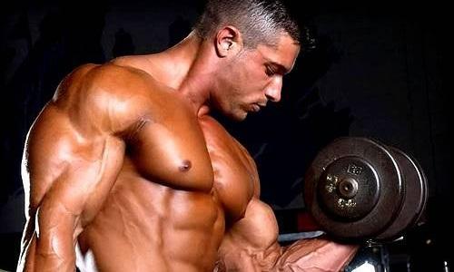 Рост мышечной массы благодаря креатину на сушке