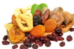 Сухофрукты во время диеты