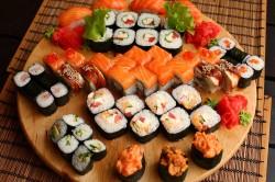 Суши во время диеты для похудения
