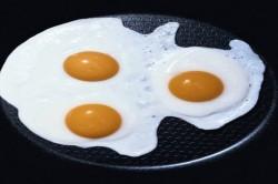 Яичница во время диеты