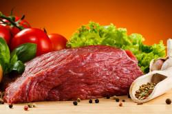 Нежирная говядина при аллергическом дерматите